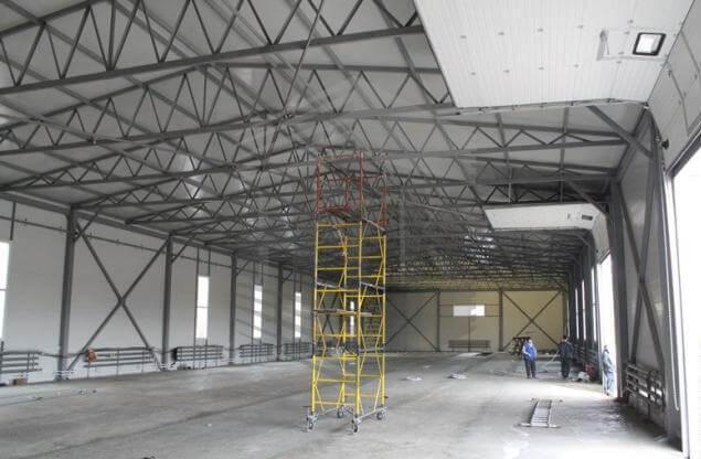 Быстровозводимые склады, складские помещения, логистические комплексы под  ключ - ООО НТК