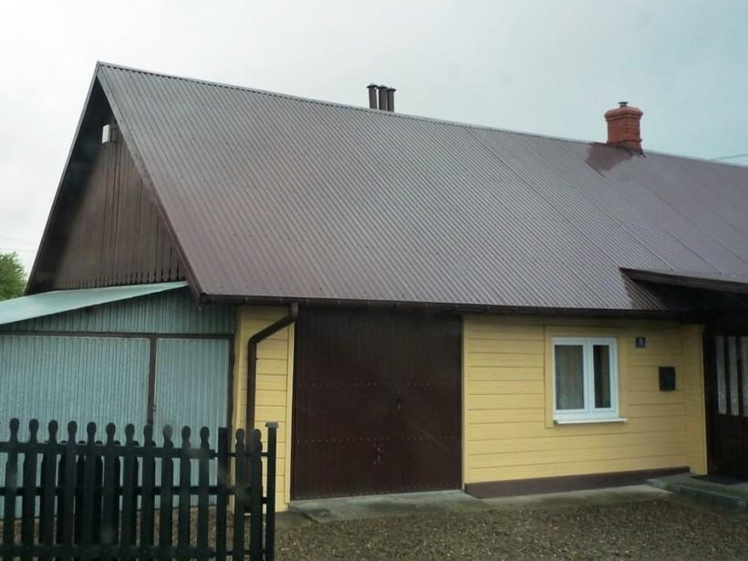 шум на крыше из профнастила