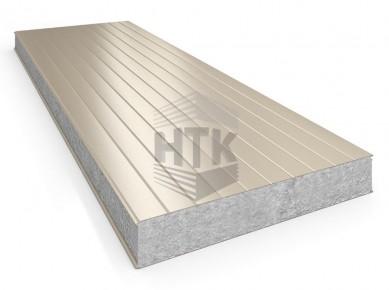 Стеновая сэндвич панель АлюТерм С ПП 60-200 мм (сайдинг 100)