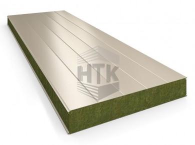 Стеновая сэндвич панель АлюТерм С МВ 80-200 мм (сайдинг 200)