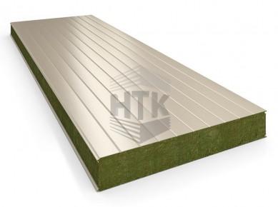 Стеновая сэндвич панель АлюТерм С МВ 80-200 мм (сайдинг 100)