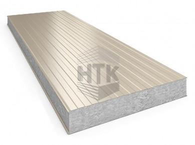 Стеновая сэндвич панель АлюТерм С ПП 60-200 мм (трапеция)